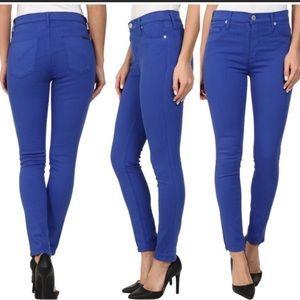 Hudson Barbara High Waist Super Skinny Blue 24